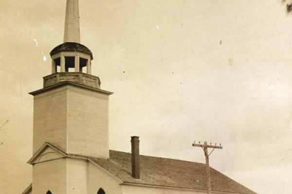 photo of Baptist Church with Steeple