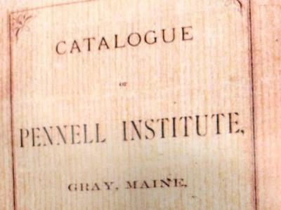 Catalogue of Pennell Institute